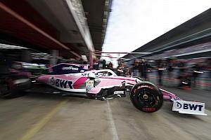 Pérez estrena el Racing Point RP19 en Barcelona