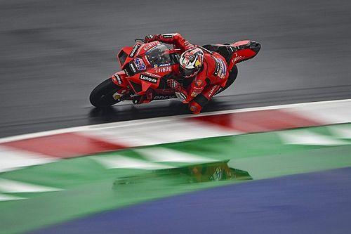 Emilia Romagna MotoGP: Miller tops damp FP2, Quartararo 16th