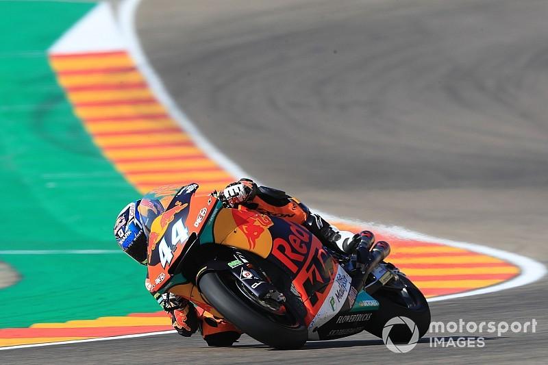 Matige kwalificatievorm Oliveira baart KTM zorgen
