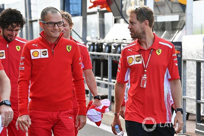 Vettelt az nyugtatja, hogy Magyarországon a Ferrari volt a leggyorsabb szárazon