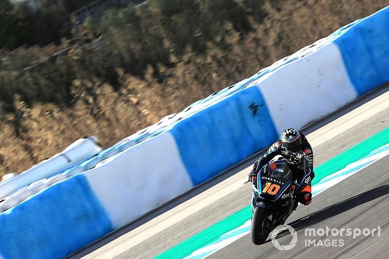 Marini, el más rápido en los tres días de test de Moto2 en Jerez