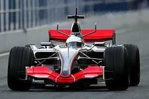 Fotos: el primer test de Alonso con McLaren F1