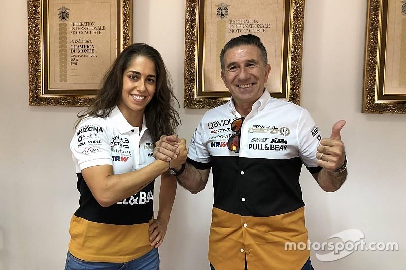 Ufficiale: nel 2019 Maria Herrera correrà in MotoE con il team Angel Nieto