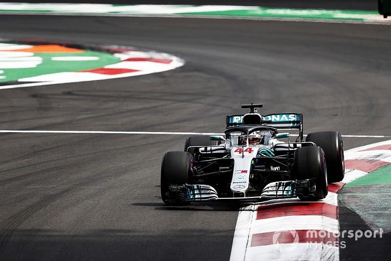 Hamilton tast in het duister na Mercedes-problemen in Mexico en Amerika