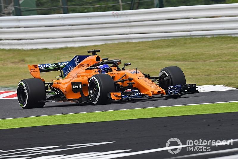 McLaren y Renault rompen el toque de queda en Suzuka