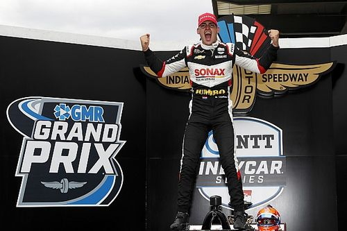 IndyCar GP Indy: VeeKay beats Grosjean, Palou for first win