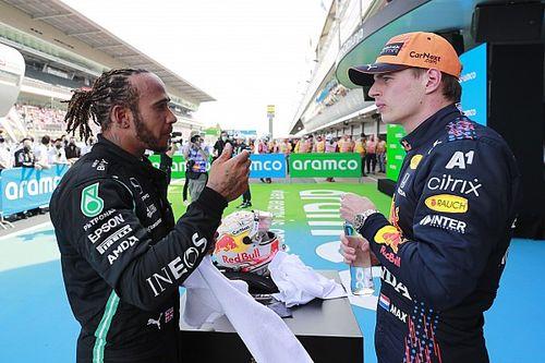 Hamilton a plus appris sur Verstappen en Espagne qu'ailleurs