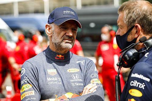 Adrian Newey de retour de blessure chez Red Bull