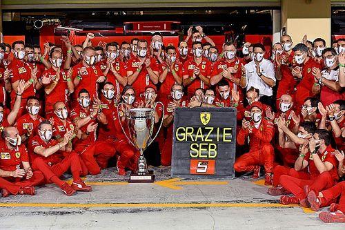 Vettel explains Ferrari farewell song in Abu Dhabi