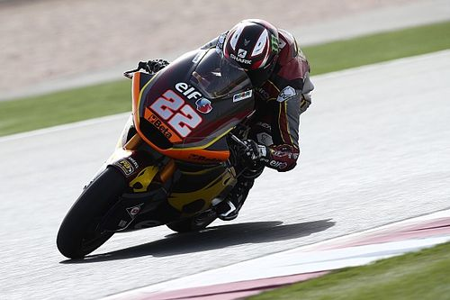 Moto2 Qatar test: Sam Lowes pips Bezzecchi by 0.013s
