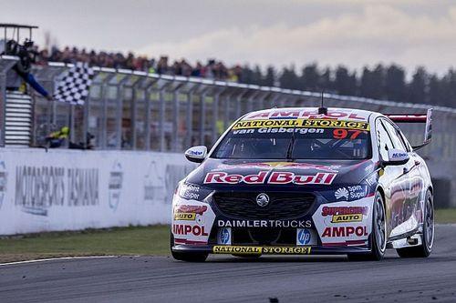 How van Gisbergen's Supercars win streak stacks up in the history books