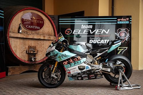 Go Eleven Ducati reveals new livery for Davies