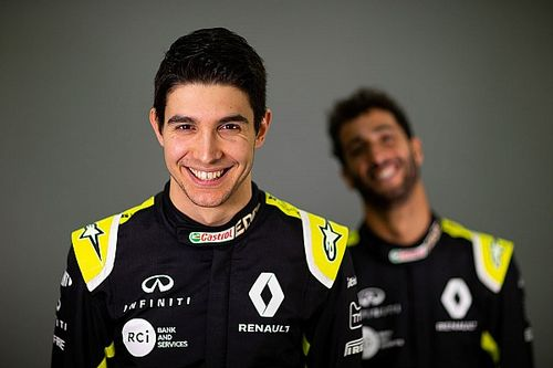 """Ocon a une """"bien meilleure"""" relation avec Ricciardo qu'avec Pérez"""