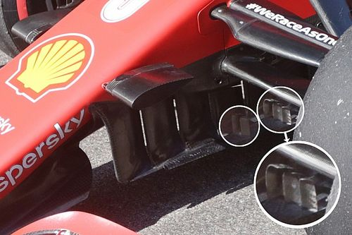 Inside F1's tech war: New Ferrari updates explained via 3D model