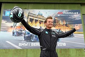 Videón Nico Rosberg első Formula E tesztje