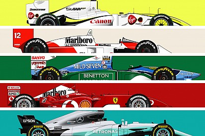Formula 1 Formula 1 tarihinde en çok yarış kazanan 66 araç