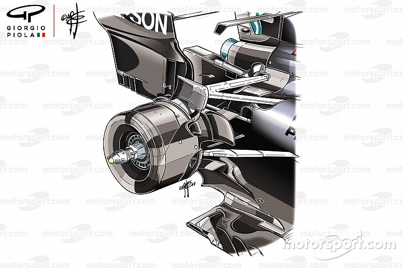 Formel-1-Technik: Das Geheimnis der Mercedes-Hinterradaufhängung