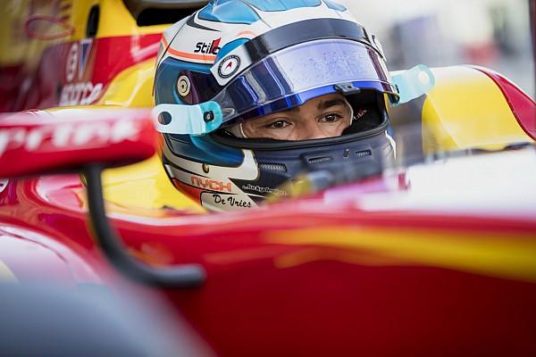 Audi пригласила де Вриса на тесты Формулы Е