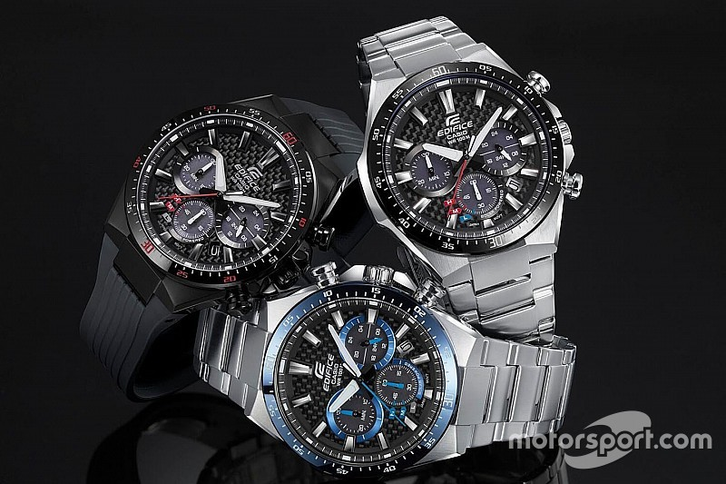 The motorsports-inspired timepiece that comes in three models