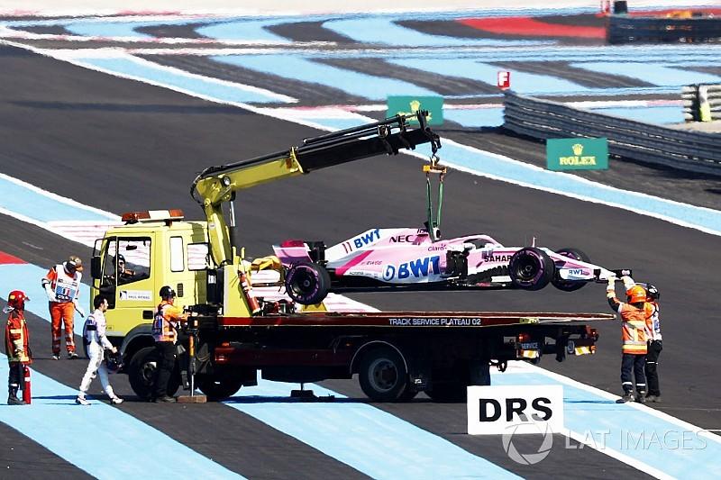 Force India'ya Perez olayından dolayı ağır ceza