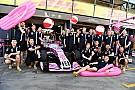 Formula 1 Force India: per il 2018 è saltato il cambio di nome del team