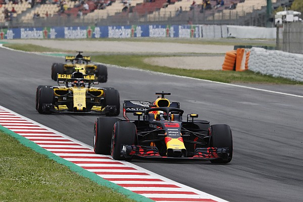 Formula 1 Breaking news Renault drivers won't miss Red Bull benchmark