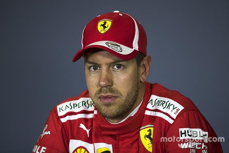 Vettel: Ferrari zayıflıkları bulmalı