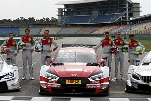 Audi announces unchanged 2019 DTM line-up