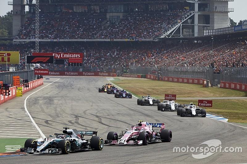 Mercedes sponsort Duitse Grand Prix na pleidooi van FOM