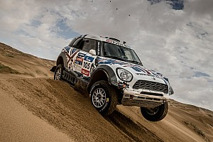 Cross-Country Rally Race report Four MINI ALL4 Racing crews complete demanding Silk Way Rally in top five
