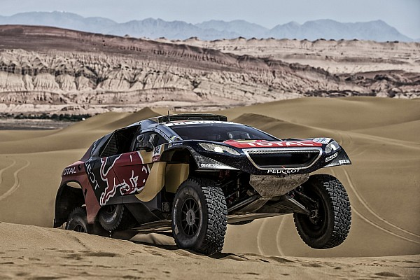 Cross-Country Rally Loeb's Silk Way Rally hopes dashed by four-hour penalty