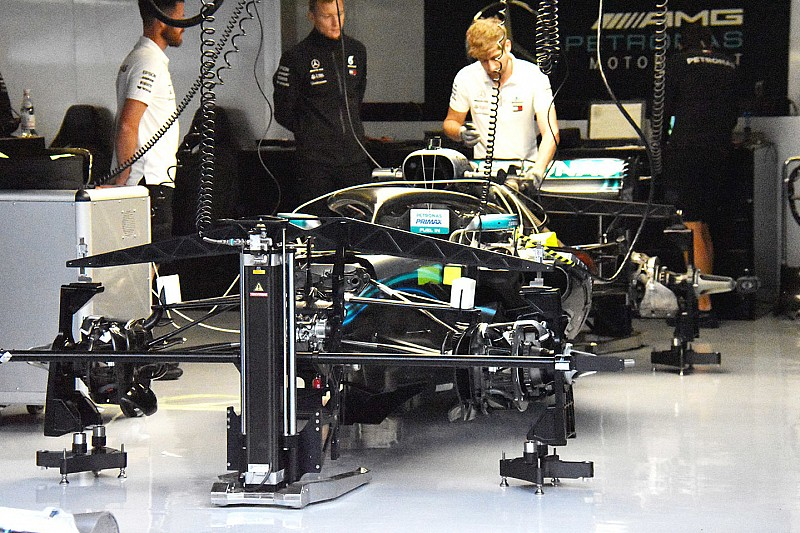 Mercedes: debutta al Red Bull Ring un importante pacchetto aerodinamico!