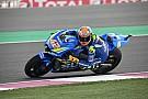 MotoGP Suzuki-rijders Rins en Iannone hopen op mooi resultaat in Qatar