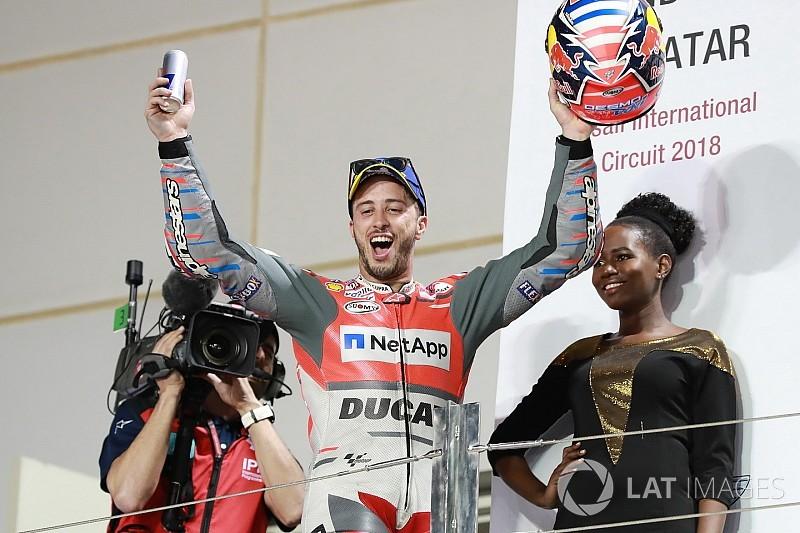"""Dovizioso geeft toe: """"Overwinning in Qatar voelde als een verplichting"""""""