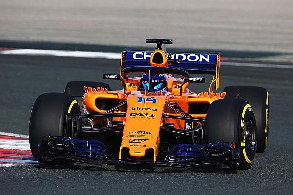 F1 突发新闻 搭载雷诺引擎的迈凯伦2018年F1赛车完成赛道首秀
