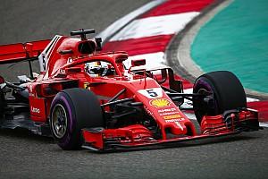 Formula 1 Prove libere Shanghai, Libere 3: con il freddo dominano le Ferrari