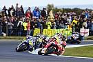 VIDEO: Kontak Marquez-Rossi di MotoGP Australia