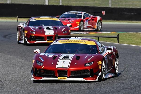 Ferrari Reporte de la carrera Nielsen vence a Leimer en la primera carrera de la Ferrari Challenge Europe