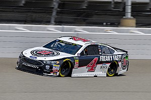 NASCAR Cup Race report Kevin Harvick wins Stage 2 at Michigan as rain threatens