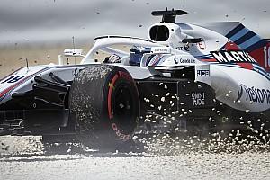 Formel 1 Reaktion Asphalt, Wind,
