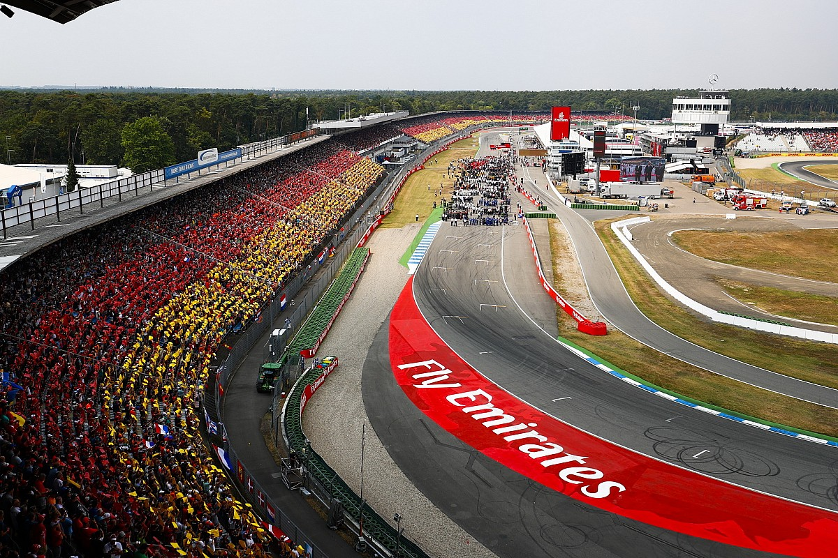 Hockenheim-Rettung: Vettel bedankt sich bei Mercedes