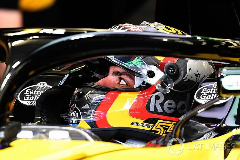 Sainz acredita que Renault quer continuar com ele em 2019