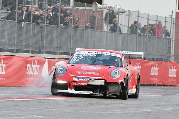 Video: Quaresmini racconta il botto al Motor Show nella gara di Carrera Cup