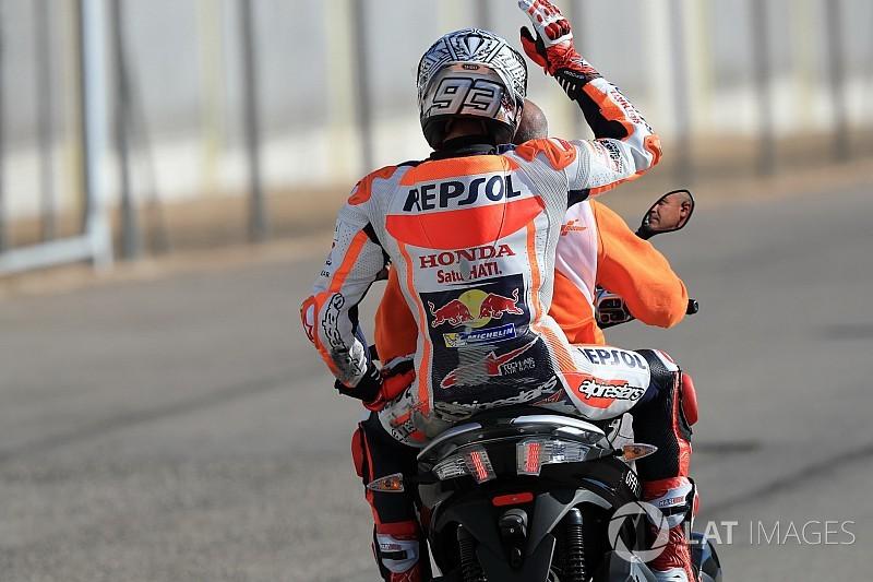 MotoGP-Showdown in Valencia: Marquez nach 26. Sturz 2017 cool