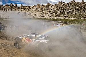 Dakar Etappenbericht Dakar 2018: Sainz übernimmt Spitze nach Peterhansels Pech