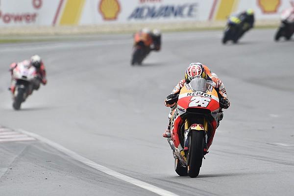 MotoGP Kein Untergang im Regen: Dani Pedrosa mit Platz fünf happy