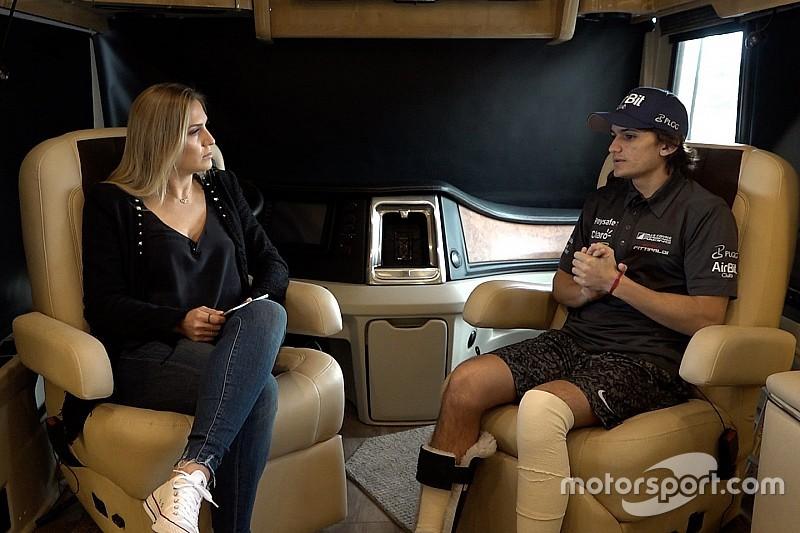 Sakatlanan Fittipaldi, Indy yarışını Coyne takımıyla takip etmiş