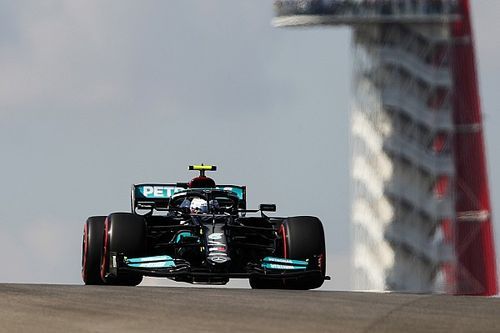 US GP: Bottas leads Hamilton, Verstappen in FP1
