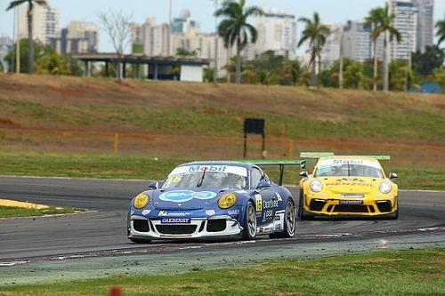 Porsche Cup: Leo Sanchez e Átila Abreu conquistam pódio nos 300 km de Goiânia da Endurance