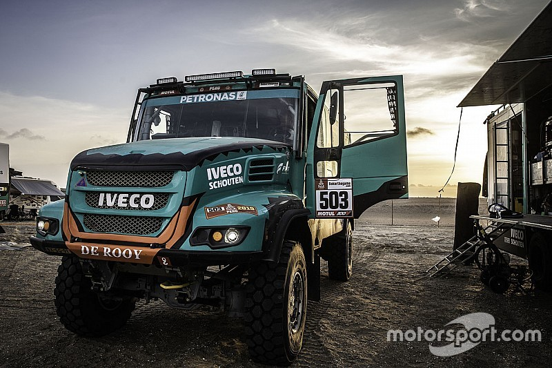 Дакар-2019: як працюють команди вантажівок